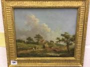 George Morland oil on canvas