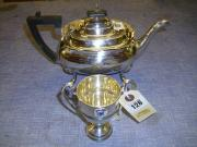 Silver Tea Pot & Trophy