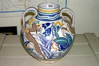 Two Handled Vase