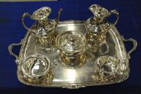 6 piece tea and coffee service